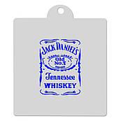 Трафарет Виски Jack Daniels 12 см HMA-М532