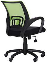 Кресло Веб сиденье Сетка черная/спинка Сетка салатовая, фото 3