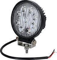 LED Фара робоча 18W/60, (6x3W) 1260 lm широкий промінь (пр-во Jubana)