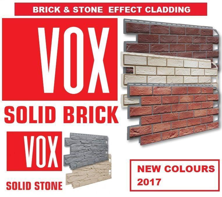 VOX SOLID BRICK  – фасадні панелі  (Цегла)