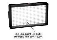 Накамерный свет Fotodiox Pro LED-312A