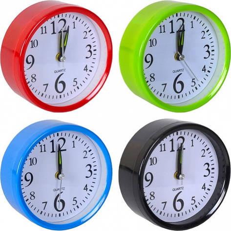 Настольные часы - будильник 10×10×4 см, фото 2