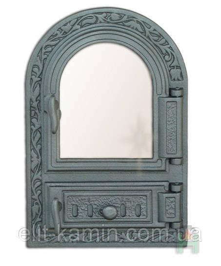 Чугунные печные дверцы Halmat Н0309 (485x325)