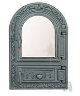 Чугунные печные дверцы Halmat FPM1R (Н0309) (485x325)