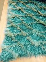 Пластина-сетка лама + енот  голубой 120*60 см Италия, фото 1