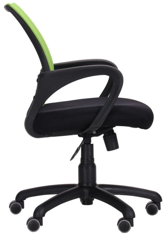 Кресло Веб сиденье Сетка черная/спинка Сетка салатовая (Фото 3)