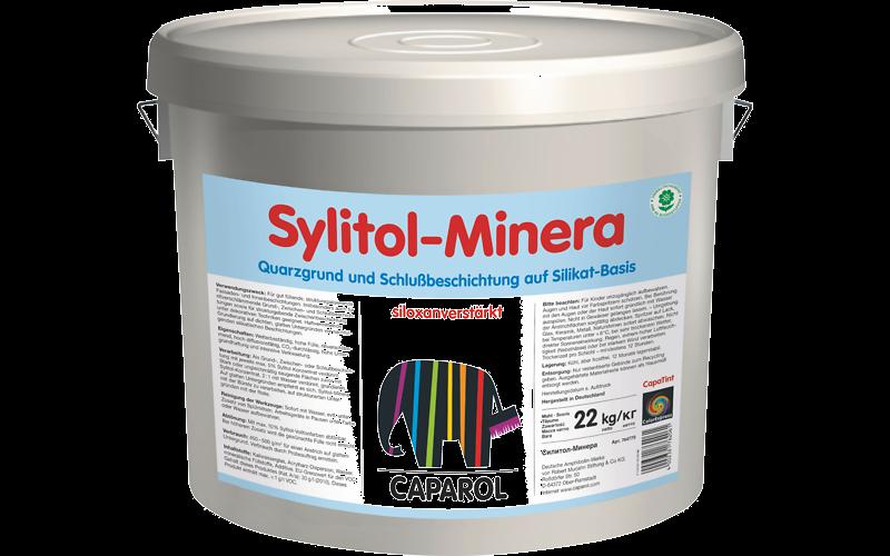 Sylitol-Minera 22 кг. Краска силикатная, усиленная силоксаном, для наружных и внутренних работ.