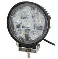 LED Фара рабочая 24W/30, (8x3W) 1680 lm узкий луч (пр-во Jubana) 453701033