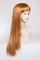 Длинный ровный парик №10,цвет рыжий золотистый