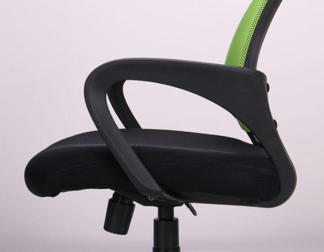 Кресло Веб сиденье Сетка черная/спинка Сетка салатовая (Фото 7)