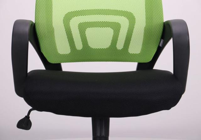 Кресло Веб сиденье Сетка черная/спинка Сетка салатовая (Фото 8)