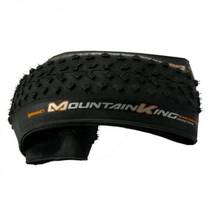 "Покрышка Continental Mountain King 2.4, 26""x2.40, 60-559, Foldable, BlackChili, ProTection, Skin, черный, фото 2"