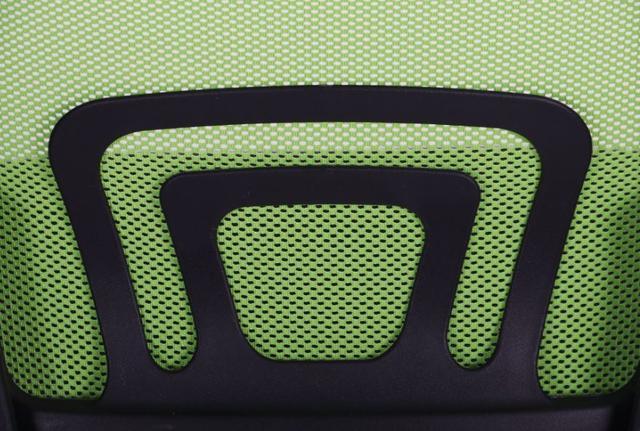 Кресло Веб сиденье Сетка черная/спинка Сетка салатовая (Фото 9)