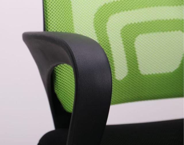 Кресло Веб сиденье Сетка черная/спинка Сетка салатовая (Фото 10)