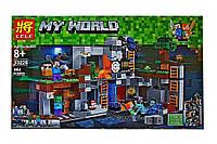"Конструктор Lele 33228 ""Приключения в шахтах"" (аналог Lego Майнкрафт, Minecraft 21147), 664 дет"