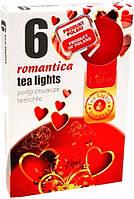Свічка чайна Романтика 6 шт