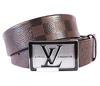 Мужской ремень в стиле Louis Vuitton 301110 Коричневый