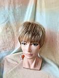 Перука короткий з канекалону під хлопчика пісочний блонд CLOVE - RH12, фото 2