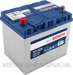 Аккумулятор автомобильный Bosch S4 Silver Asia 60Ah R+ 540A (S4 025)