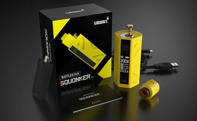 Battlestar TC Squonker Kit от Smoant