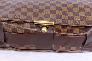 Мужская сумка для документов LV3057455 Коричневая, фото 2