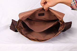 Мужская сумка для документов LV3057455 Коричневая, фото 3