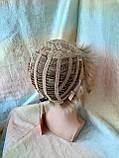 Перука короткий з канекалону під хлопчика пісочний блонд CLOVE - RH12, фото 4