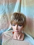 Перука короткий з канекалону під хлопчика пісочний блонд CLOVE - RH12, фото 5