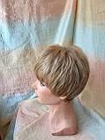 Перука короткий з канекалону під хлопчика пісочний блонд CLOVE - RH12, фото 6