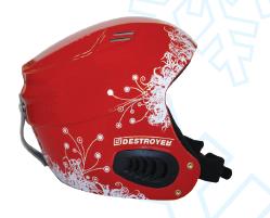 Шолом Destroyer Helmet Red XXS(51-52). Горнолыжный шолом