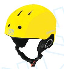 Шолом Destroyer Helmet Yellow. Горнолыжный шолом