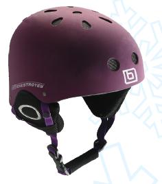 Шолом Destroyer Helmet Purple XS(53-54). Горнолыжный шолом