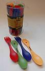 Ложка-виделка пластикова Tramp (ловилка) пластмасова Tramp. Ловилка. Туристическая ложка, фото 7