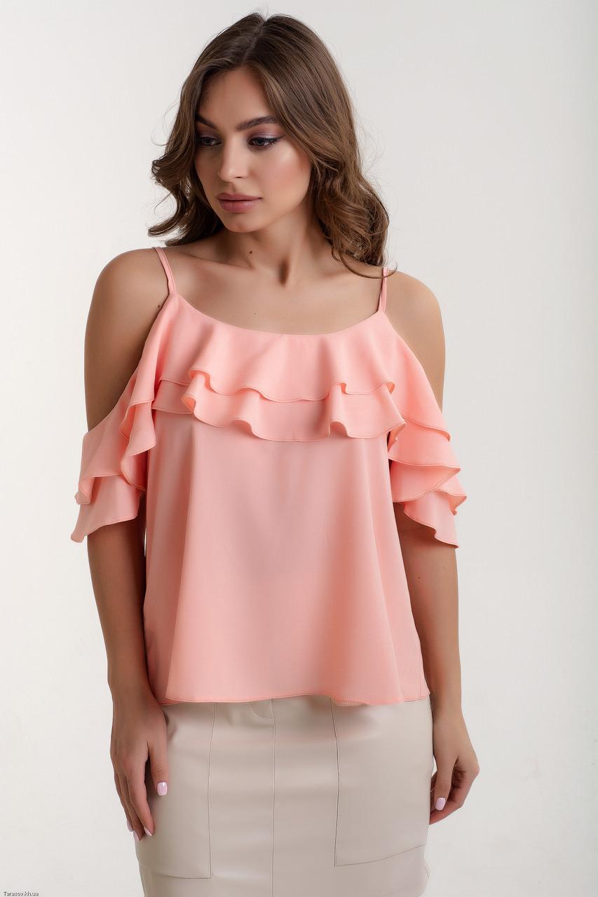 Блузка K&ML 451 розовый 44