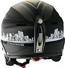 Шолом Destroyer Helmet HiFi XS (51-52). Горнолыжный шолом, фото 2