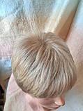 Парик короткий из термоволос под мальчика платиновый блонд RG1777 - 15ВТ613, фото 9