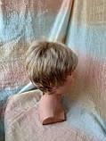 Парик короткий из термоволос под мальчика платиновый блонд RG1777 - 15ВТ613, фото 8