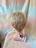 Парик короткий из термоволос под мальчика платиновый блонд RG1777 - 15ВТ613, фото 7