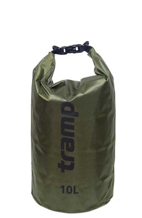 Гермомешок 10л. Tramp-olive. гермомешок. водонепроницаемая упаковка