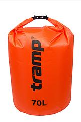 Гермомешок 70л. Tramp-orange. гермомешок. водонепроницаемая упаковка