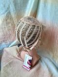 Парик короткий из термоволос под мальчика платиновый блонд RG1777 - 15ВТ613, фото 5