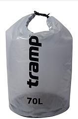 Гермомешок 70л. Tramp прозрачный. гермомешок. водонепроницаемая упаковка