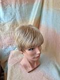 Парик короткий из термоволос под мальчика платиновый блонд RG1777 - 15ВТ613, фото 2