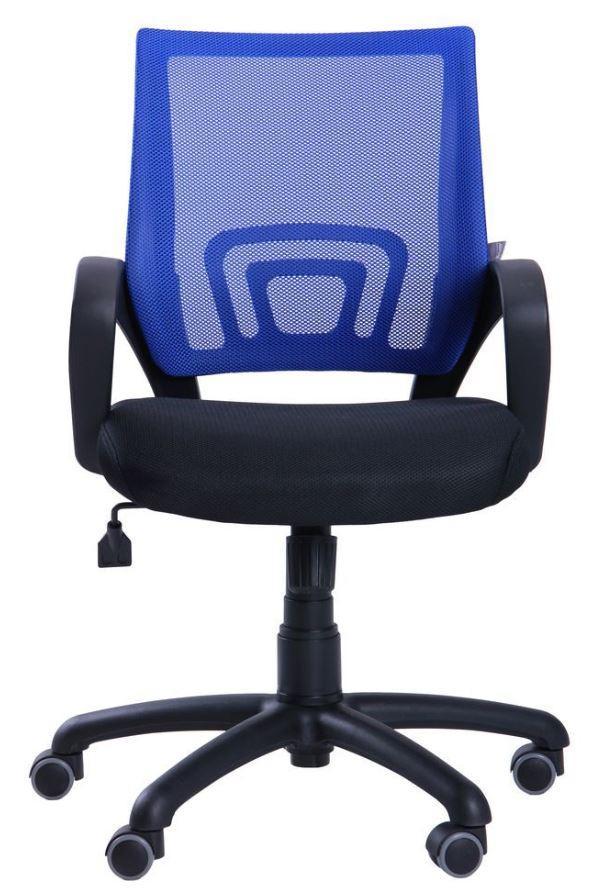 Кресло Веб сиденье Сетка черная/спинка Сетка синяя (Фото 4)