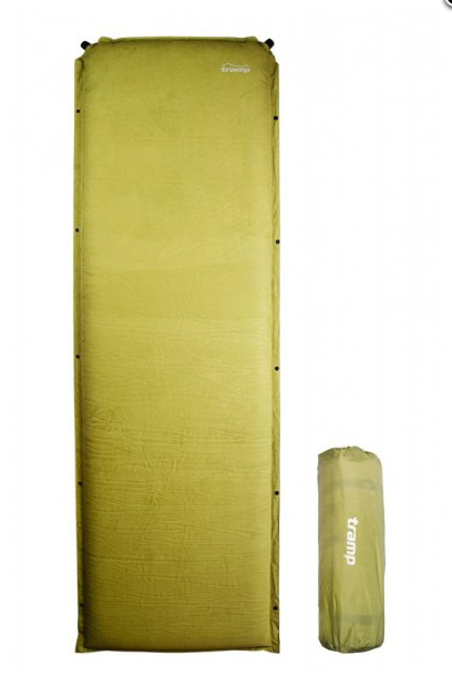 Cамонадувний коврик комфорт TRAMP TRI-016. 190 х 65 х 9 Каримат. коврик туристический