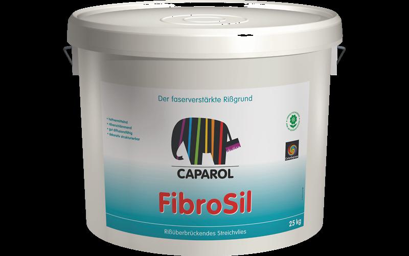 FibroSil 25 кг грунтовочная краска, усиленная фиброволокном. Является покрытием, затягивающим трещины.