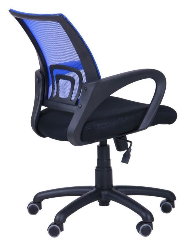 Кресло Веб сиденье Сетка черная/спинка Сетка синяя (Фото 5)