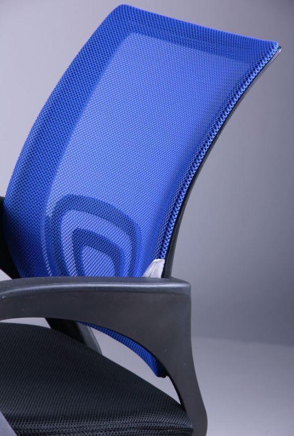 Кресло Веб сиденье Сетка черная/спинка Сетка синяя (Фото 6)