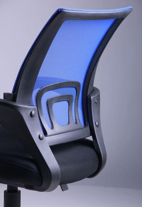 Кресло Веб сиденье Сетка черная/спинка Сетка синяя (Фото 7)