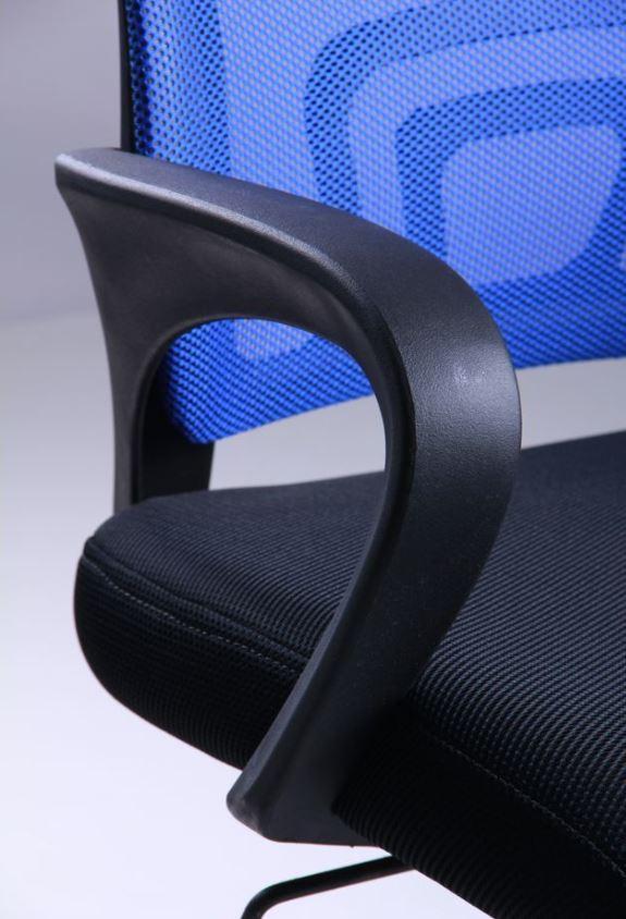 Кресло Веб сиденье Сетка черная/спинка Сетка синяя (Фото 8)
